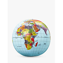 Buy Mega Inflatable Globe, 50cm Online at johnlewis.com