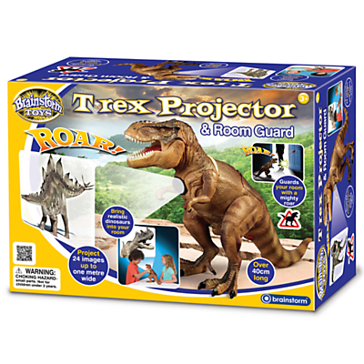 Image of Brainstorm Toys T-Rex Projector and Room Guard