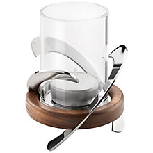 Buy Robert Welch Helix Tea Light Holder Online at johnlewis.com