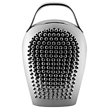 Buy Alessi Cheese Please Grater, Stainless Steel Online at johnlewis.com