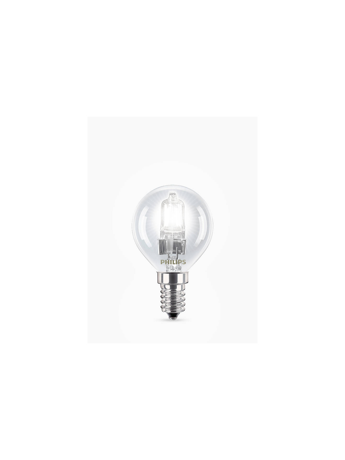 Buy Philips 18W SES Eco Halogen Golfball Light Bulb Online at johnlewis.com