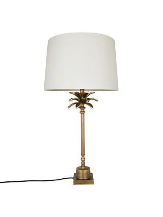 India Jane Palm Leaf Stick Lamp Base, John Lewis Table Lamps India Jane