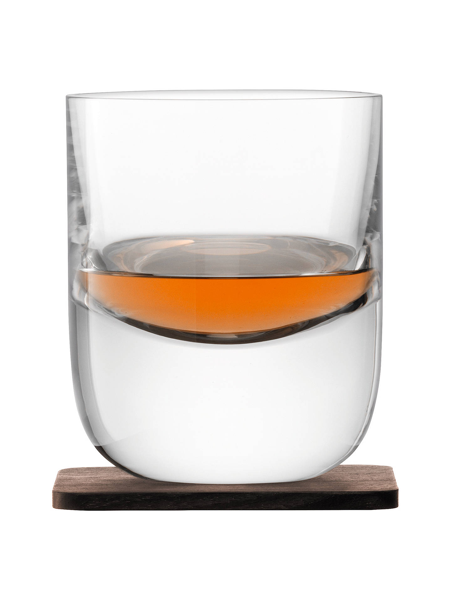BuyLSA International Straight Whisky Tumbler with Coaster, Set of 2 Online at johnlewis.com
