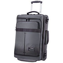 Buy Samsonite City Vibe 2-Wheel 55cm Laptop Cabin Suitcase Online at johnlewis.com