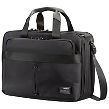 "Buy Samsonite CityVibe 3-Way 16"" Laptop Expandable Work Bag, Grey Online at johnlewis.com"