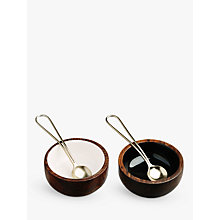 Buy Just Slate Bowls & Spoons, Set of 2 Online at johnlewis.com