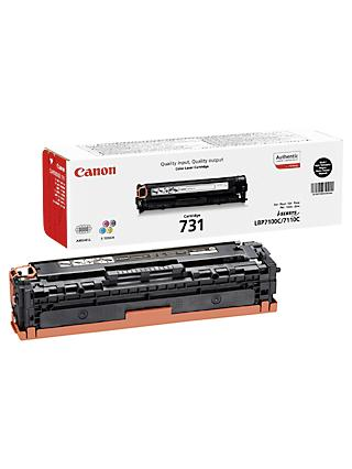 Canon CRG-731B Toner Cartridge, Black