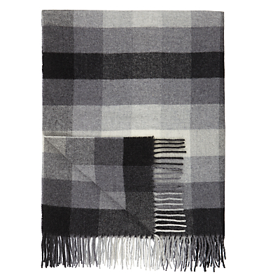 John Lewis Whitby Check 100% Lambswool Throw