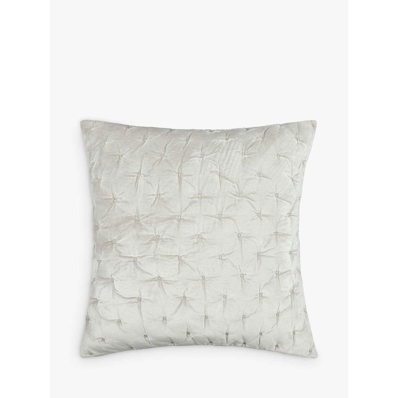 john lewis velvet stitch cushion cover at john lewis. Black Bedroom Furniture Sets. Home Design Ideas