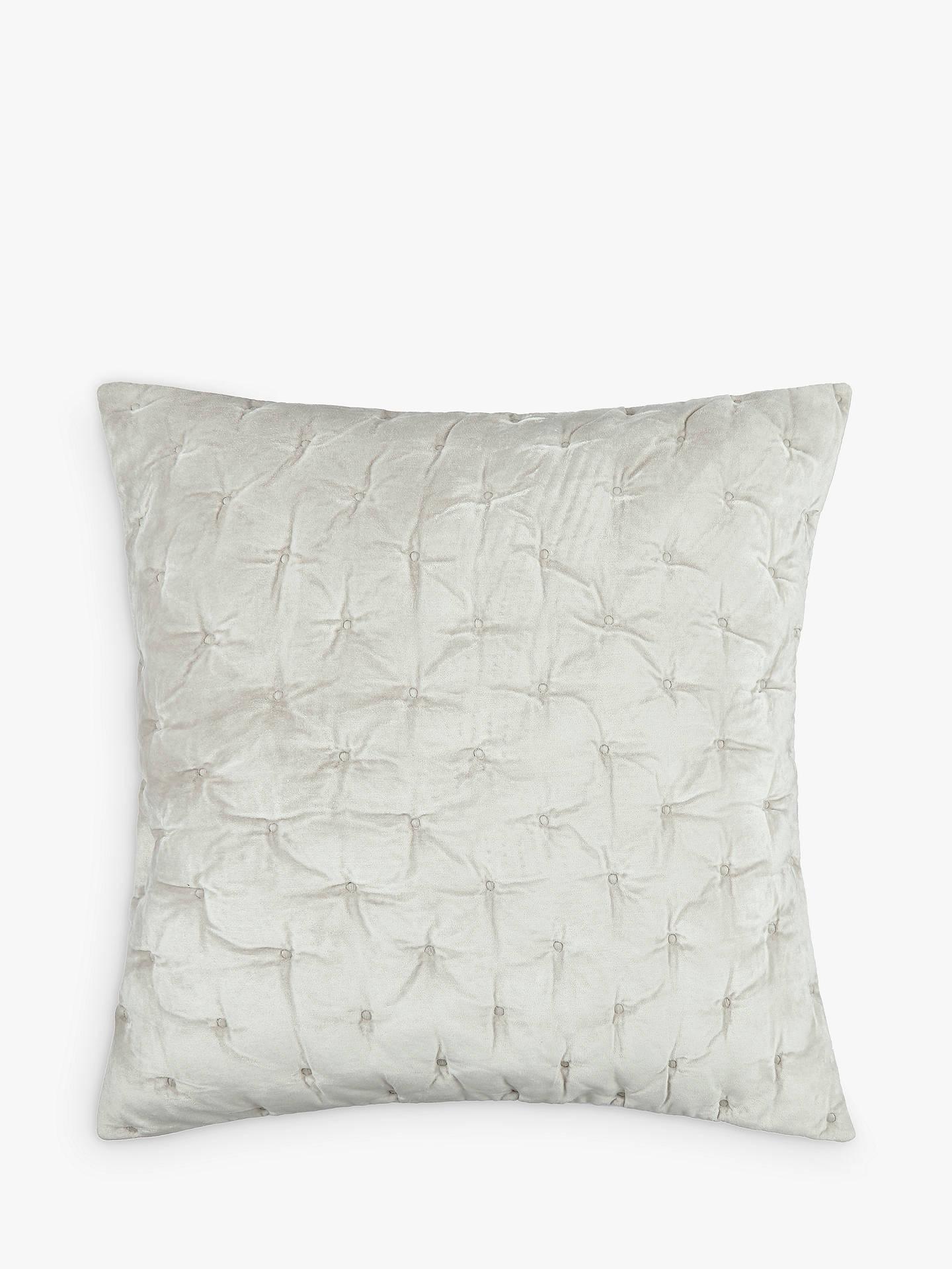 john lewis partners velvet stitch cushion cover at john. Black Bedroom Furniture Sets. Home Design Ideas