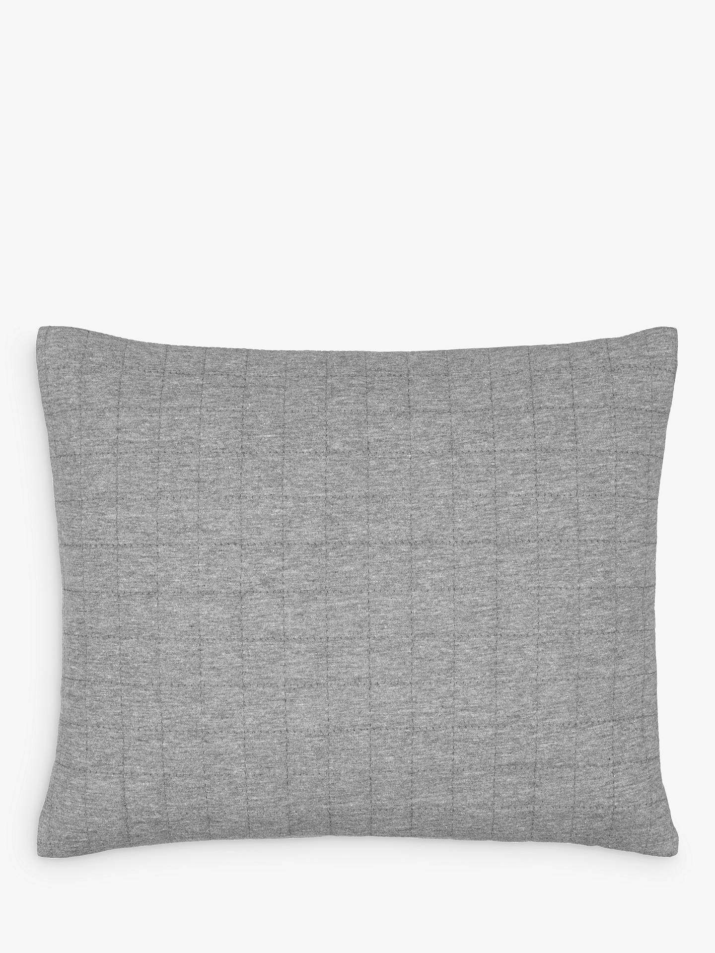 BuyHouse by John Lewis Jersey Cushion, Steel Online at johnlewis.com