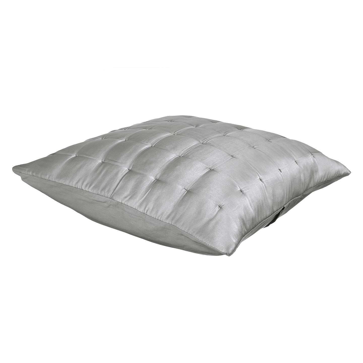BuyJohn Lewis Boutique Hotel Silk Cushion Cover, Grey Online at johnlewis.com