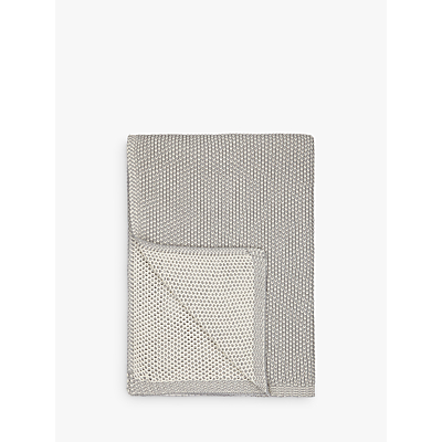 John Lewis Honeybee Cotton Knitted Throw