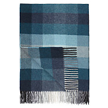 Buy John Lewis Whitby Check 100% Lambswool Throw Online at johnlewis.com