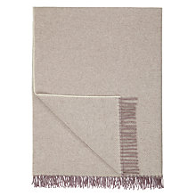 Buy John Lewis Hampton Check 100% Wool Throw Online at johnlewis.com