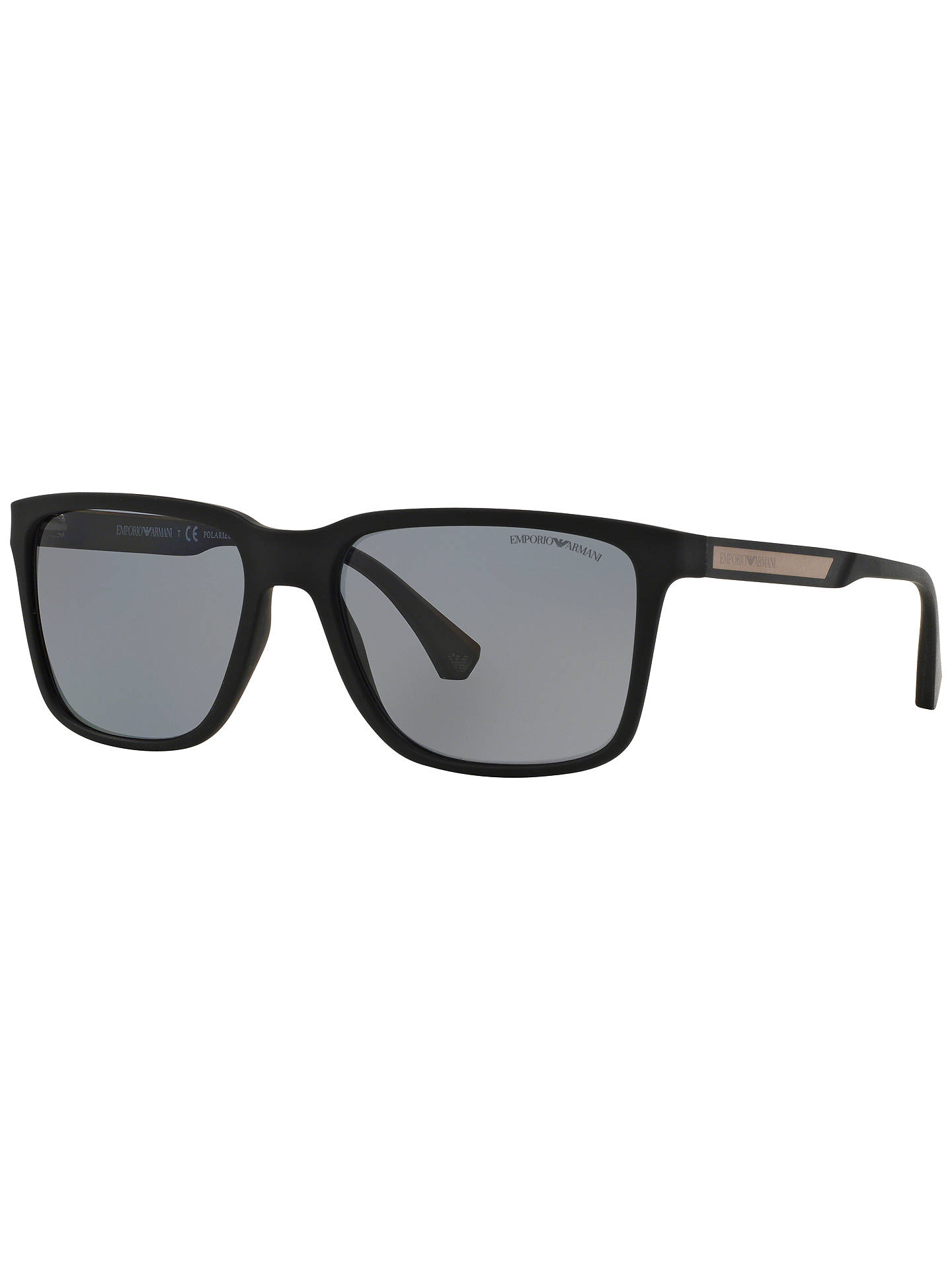 1435b9f9f9 BuyEmporio Armani EA4047 Square Framed Polarised Sunglasses