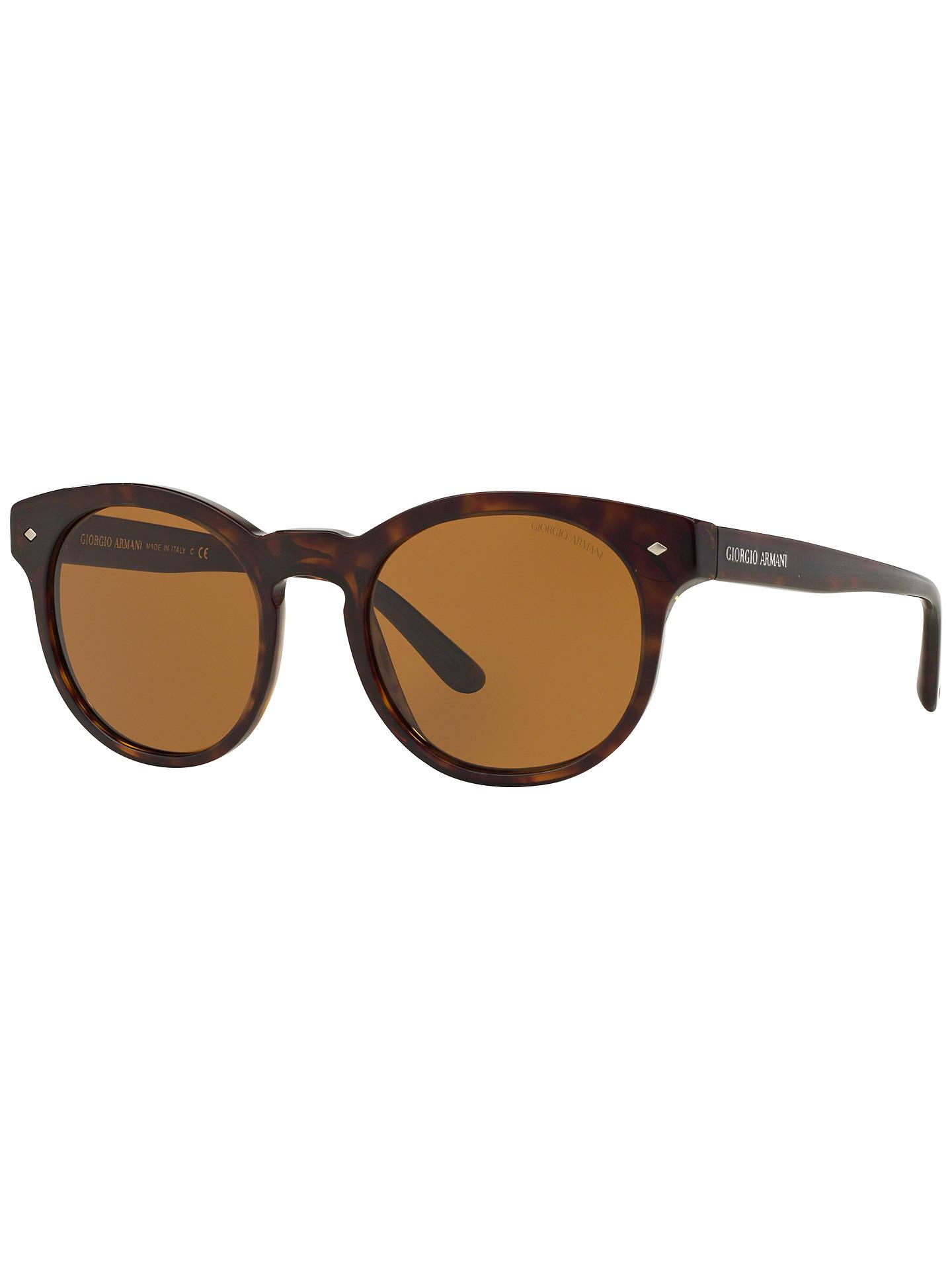 9c1e36e92c Giorgio Armani AR8055 Oval Framed Sunglasses, Tortoise