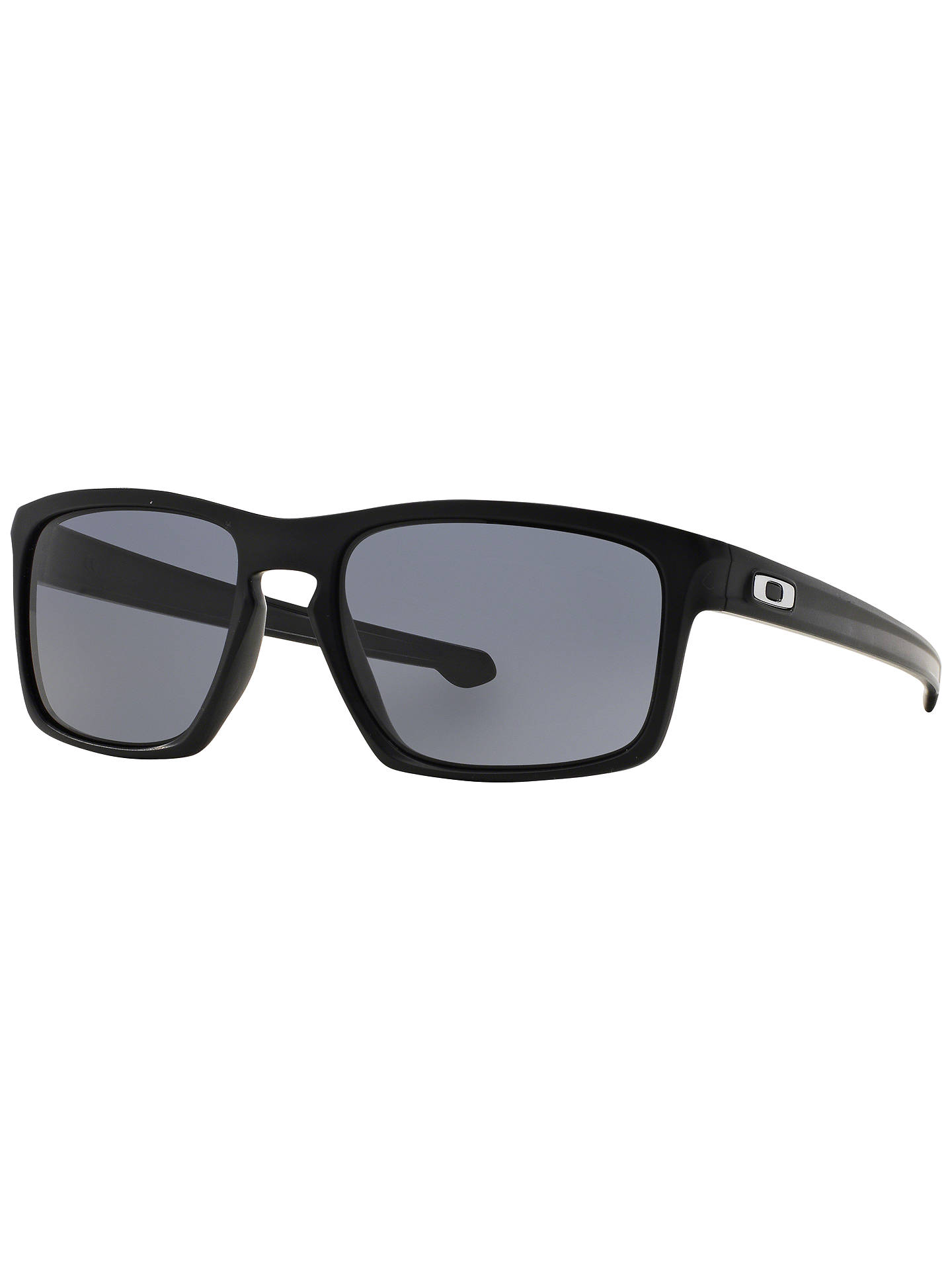 26ca3a6106b3b Oakley OO9262 Sliver Rectangular Sunglasses at John Lewis   Partners