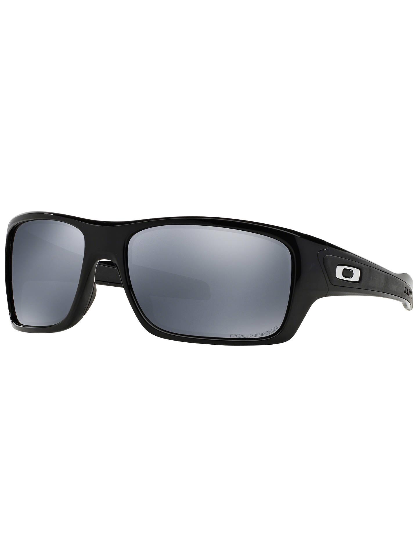 b112368104 Oakley OO9263 Turbine Polarised Sunglasses at John Lewis   Partners
