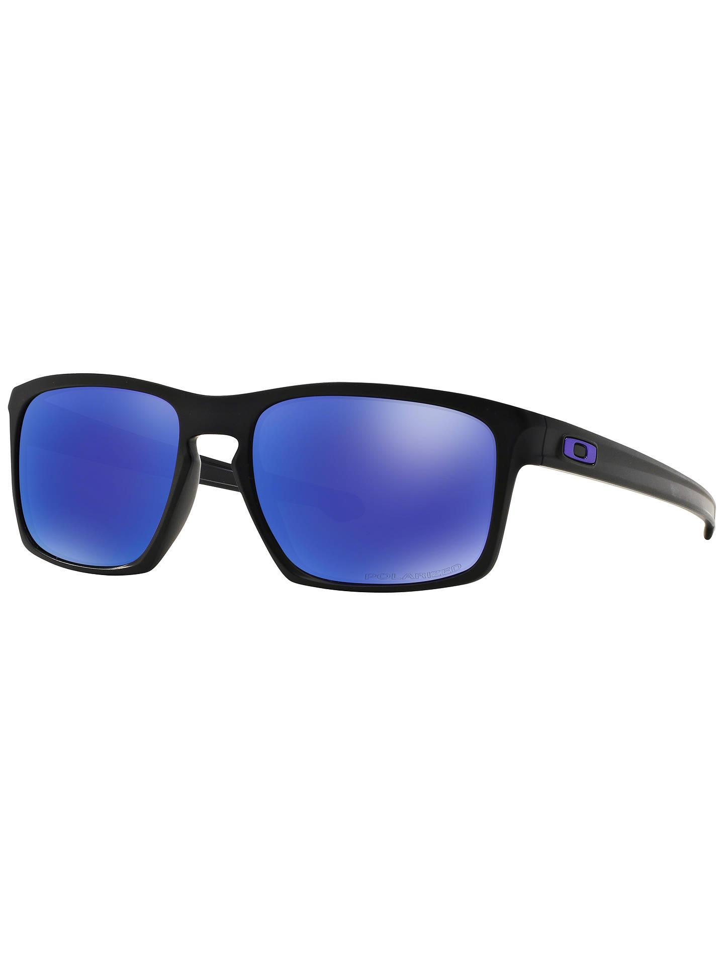 84bc0ae6e83 Oakley OO9262 Sliver Polarised Sunglasses at John Lewis   Partners