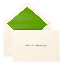 Buy kate spade new york Thank You Notecards, Pack of 10 Online at johnlewis.com