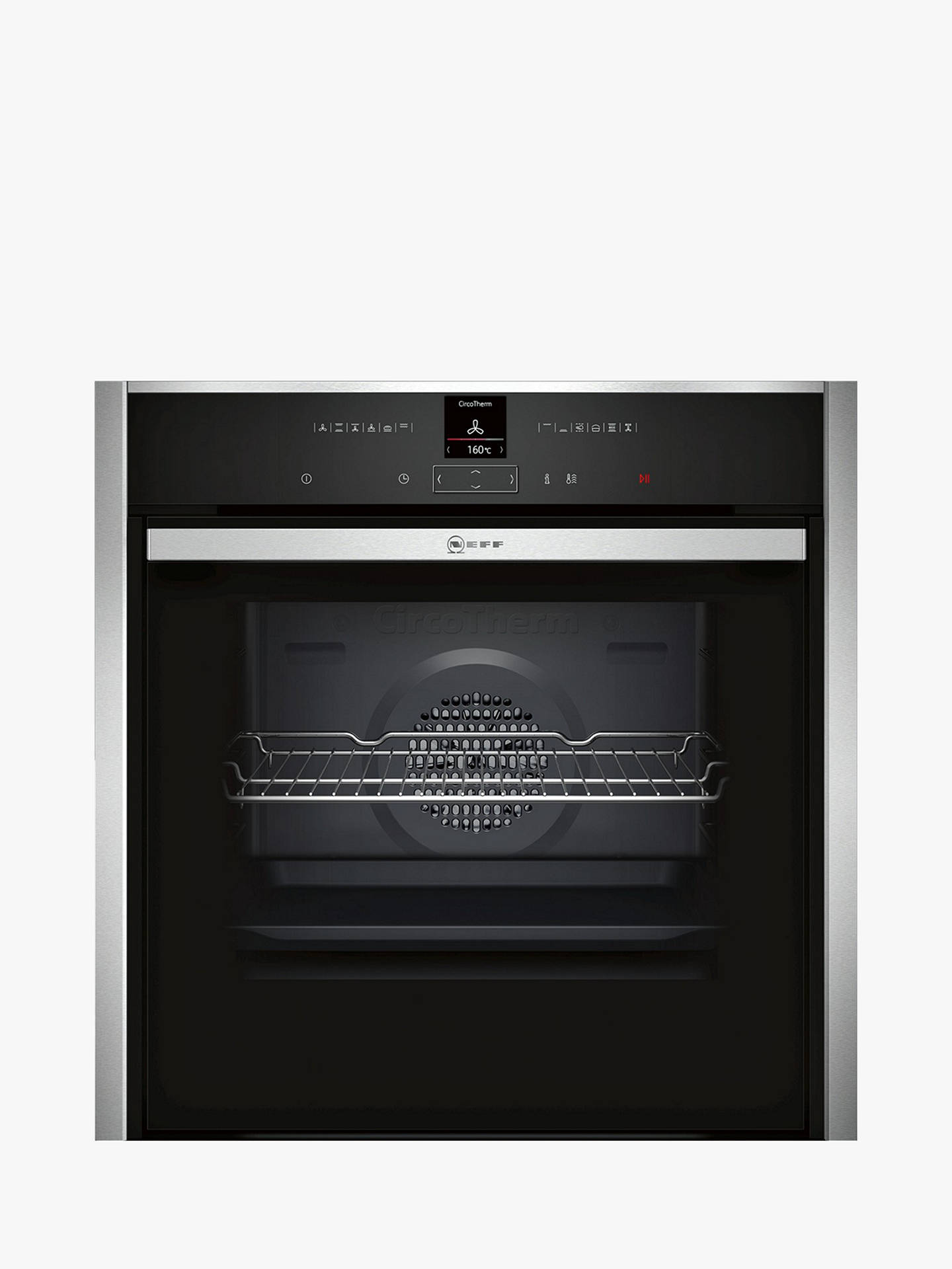 Neff B57cr22n0b Pyrolytic Slide And Hide Single Electric Oven