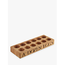 Buy Emma Bridgewater Oak Egg Holder Online at johnlewis.com