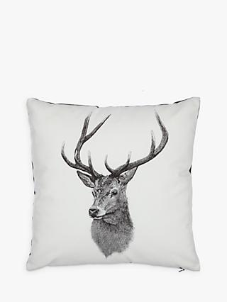 John Lewis & Partners Ben Rothery Henry Stag Cushion