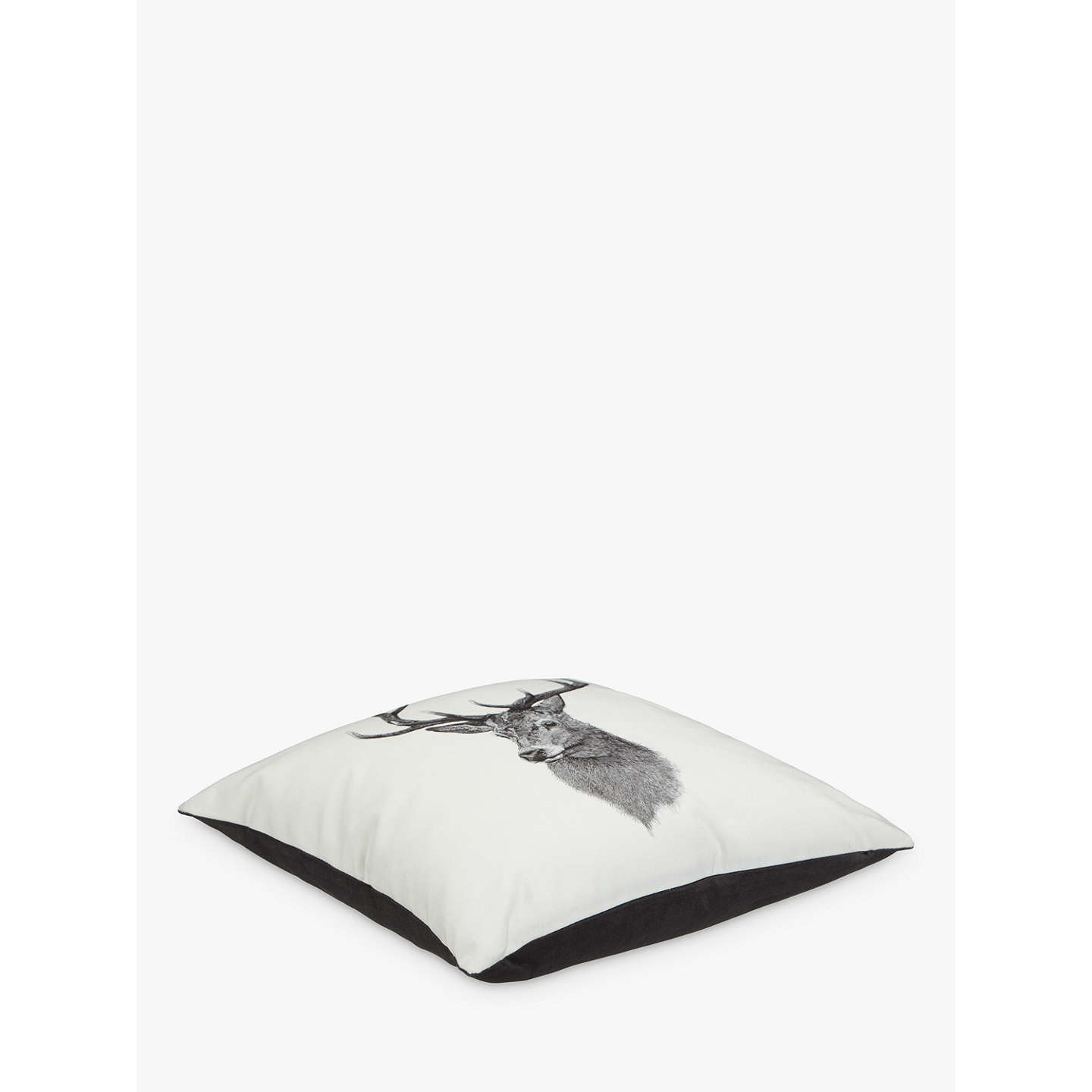 BuyBen Rothery Henry Stag Cushion, L40 x W40cm Online at johnlewis.com