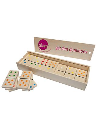 Plum Garden Dominoes Set