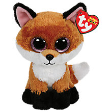 Buy Ty Beanie Boo Slick Fox Soft Toy Online at johnlewis.com