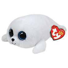 Buy Ty Beanie Boo Icy Seal Soft Toy, 16cm Online at johnlewis.com