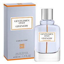 Buy Givenchy Gentlemen Only Casual Chic Eau de Toilette Online at johnlewis.com