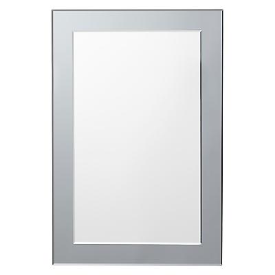 John Lewis Smoked Glass Wall Mirror