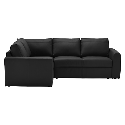 House by John Lewis Finlay II Leather Corner End Sofa