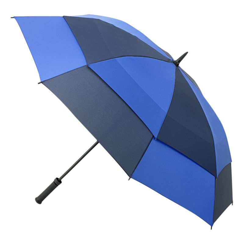 Fulton Fulton Stormshield Double Canopy Walker Umbrella, Blue