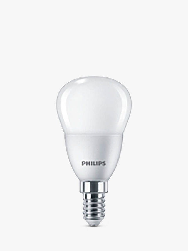 Buy Philips 4W LED SES Frosted Golf Ball Lightbulb Online at johnlewis.com