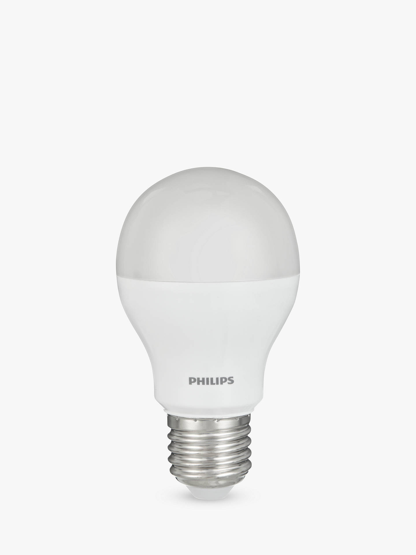 BuyPhilips 8W ES LED Classic Light Bulb, Frosted Online at johnlewis.com