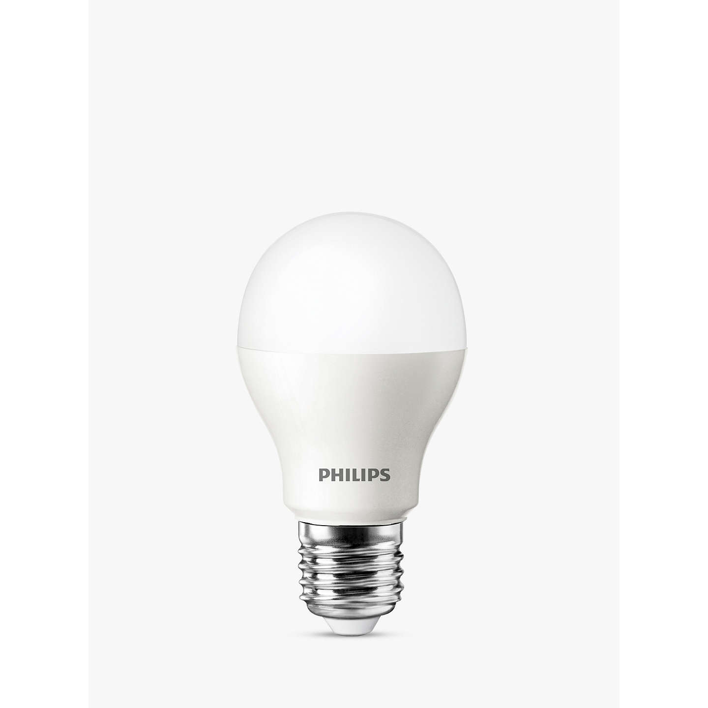 philips 5 5w es classic led light bulb frosted at john lewis. Black Bedroom Furniture Sets. Home Design Ideas