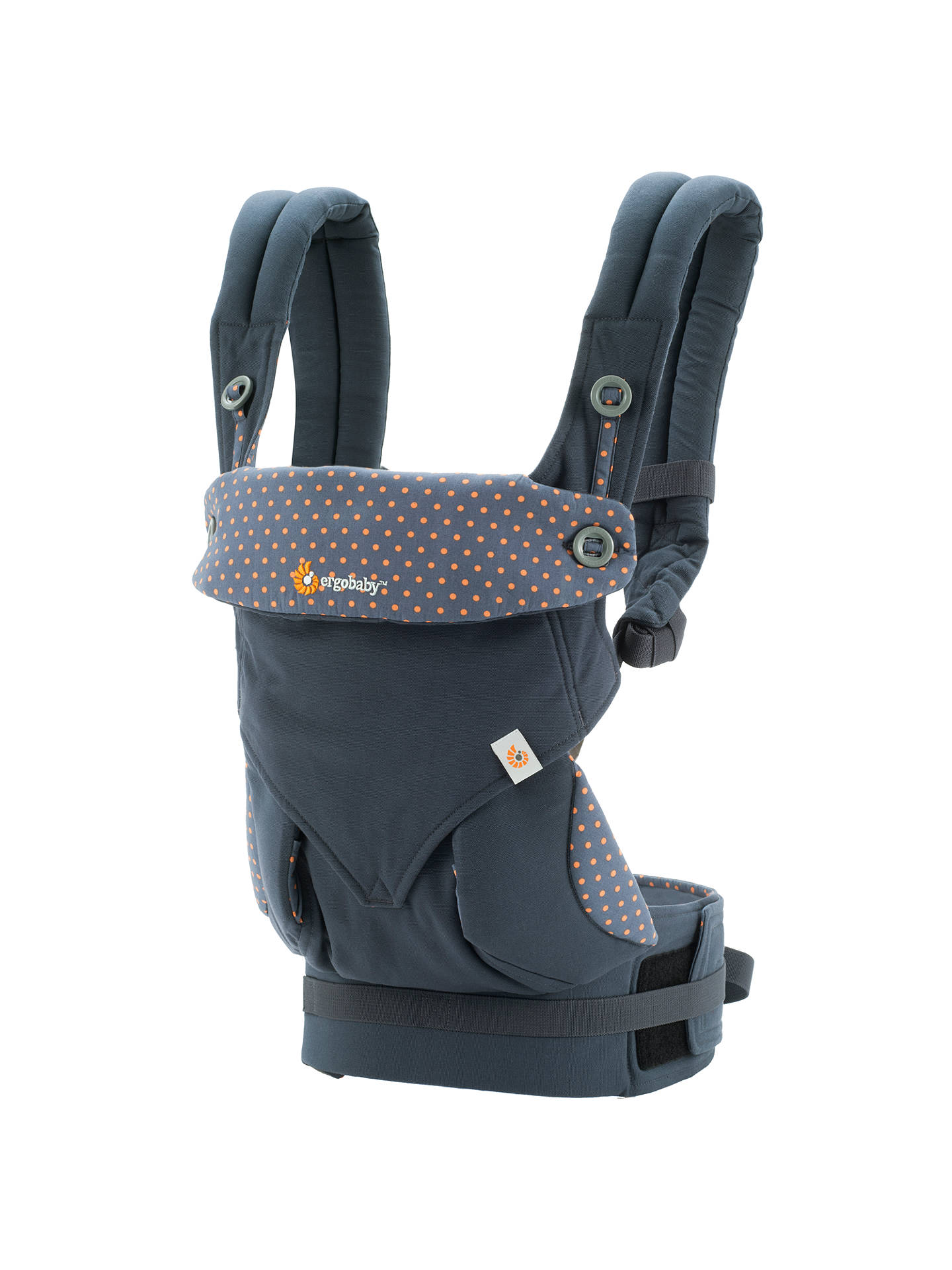 BuyErgobaby Four Position 360 Baby Carrier, Dusty Blue Online at johnlewis.com