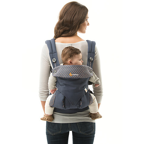 Buy Ergobaby Four Position 360 Baby Carrier, Dusty Blue Online at johnlewis.com