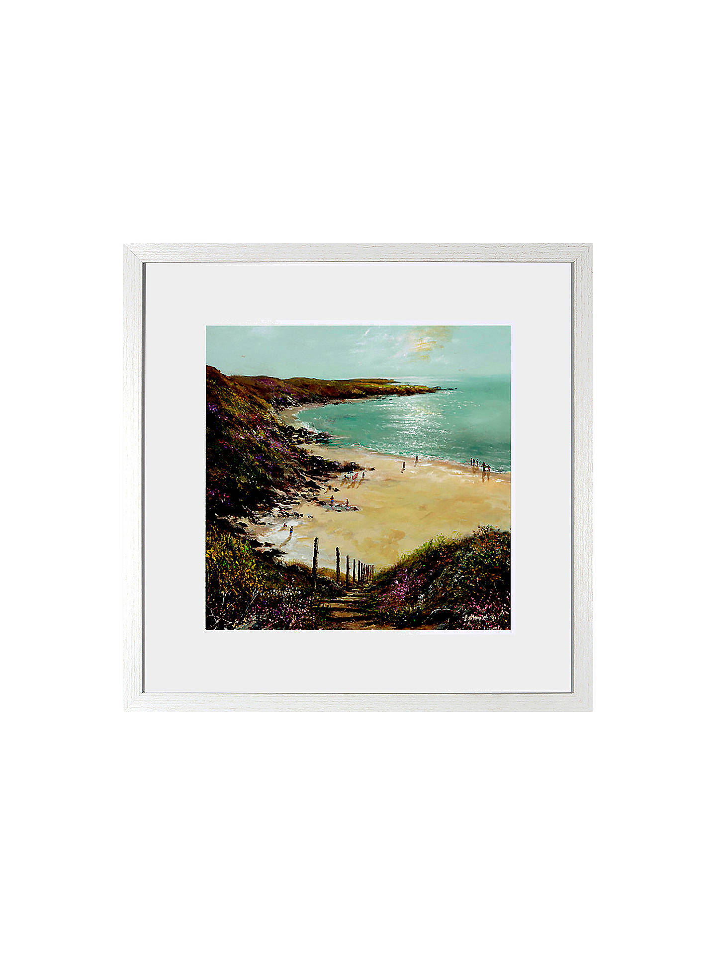 BuyAnthony Waller - White Sand Bay, 48 x 48cm Online at johnlewis.com