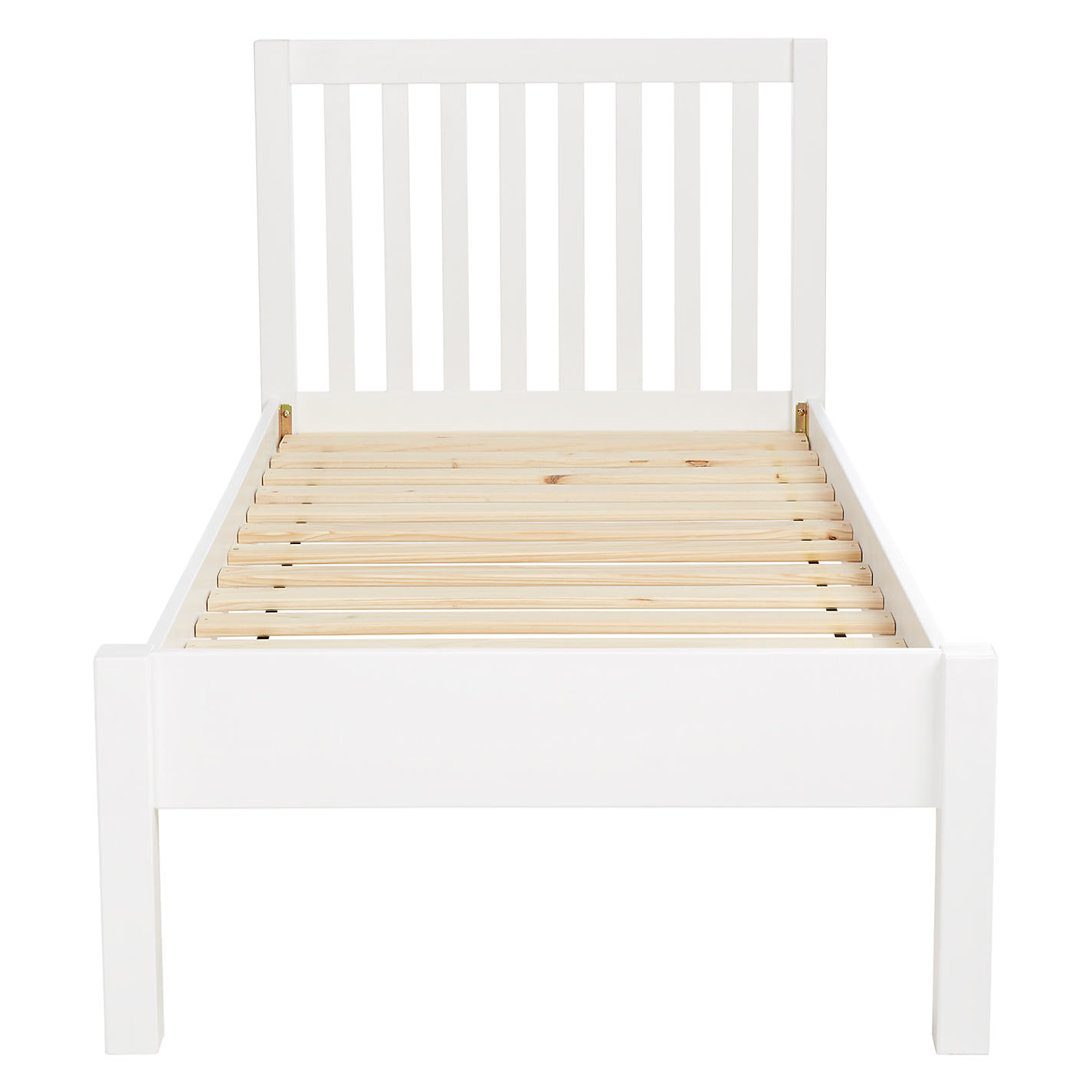 White Bed Frames buy john lewis wilton child compliant bed frame, single | john lewis
