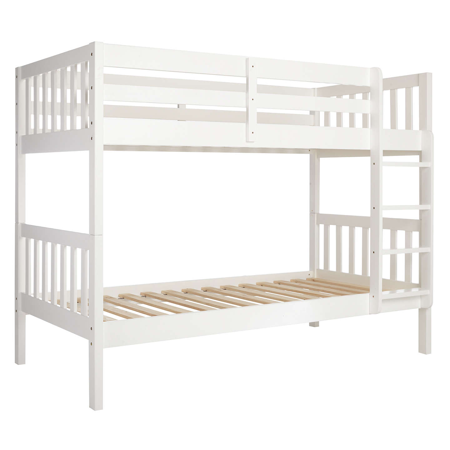 finish pine white wooden bed adults solid kids happy sleeper atlantis beds bunk triple and for