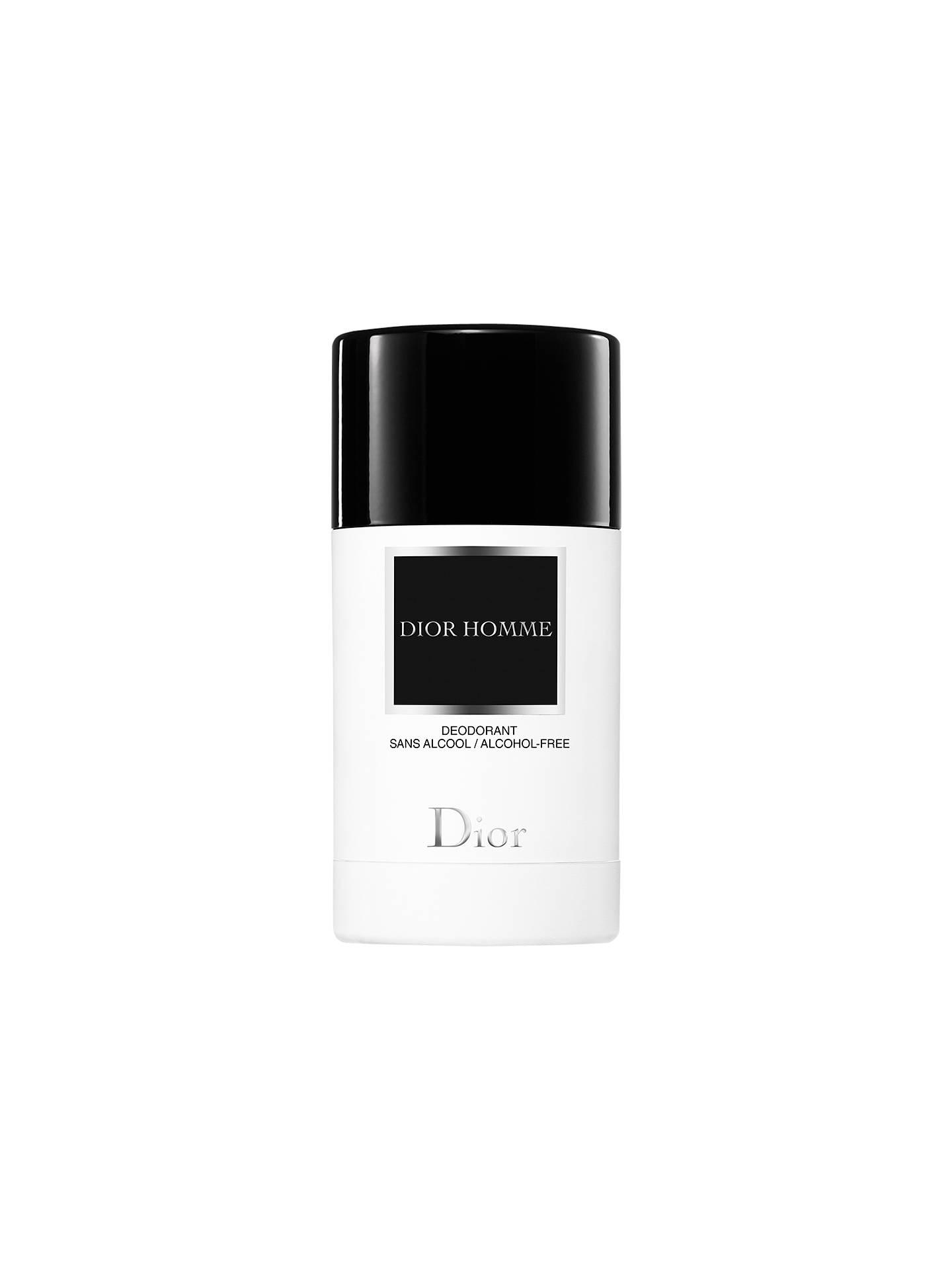 ef945fa3ed361d Buy Dior Homme Deodorant Stick, 75g Online at johnlewis.com