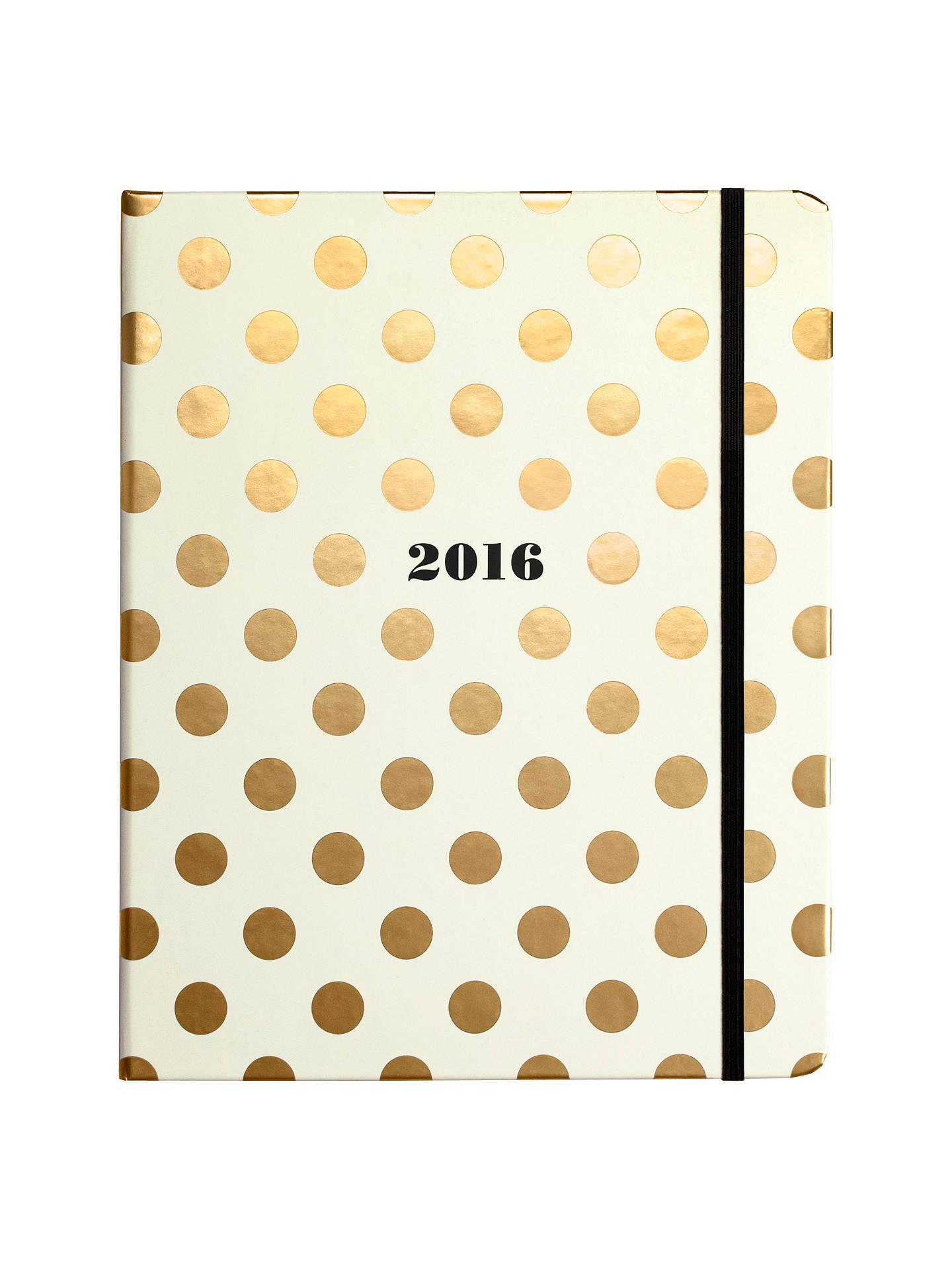 Buy kate spade new york 17 Month Organiser, Gold Dots Online at johnlewis.com