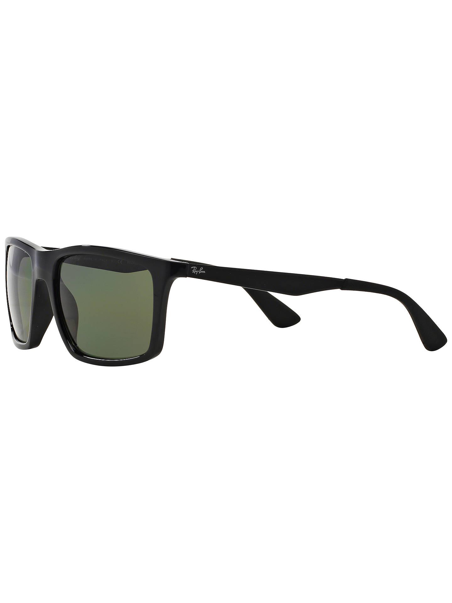 81644721da Ray-Ban RB4228 Polarised Rectangular Framed Sunglasses at John Lewis ...
