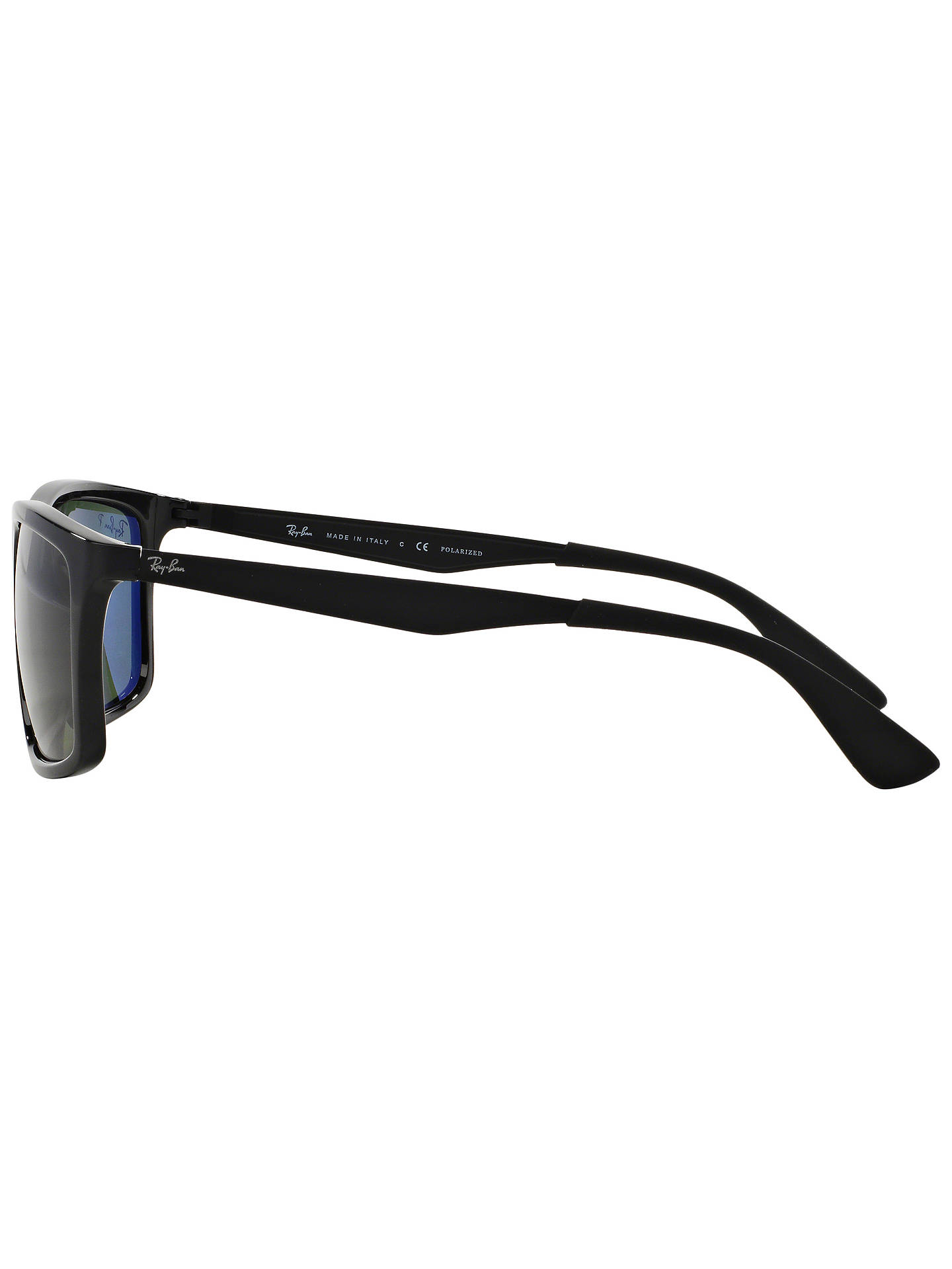 1a5b0db97e Ray-Ban RB4228 Polarised Rectangular Framed Sunglasses at John Lewis ...