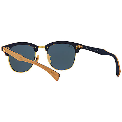 Buy Ray-Ban RB3016M Polarised Classic Clubmaster Sunglasses Online at johnlewis.com