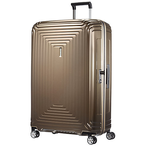 Buy Samsonite Neopulse 81cm Spinner 4-Wheel Extra Large Suitcase Online at johnlewis.com